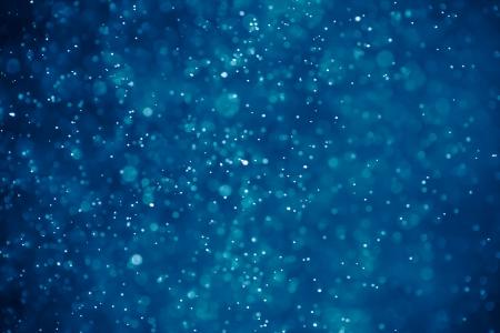 abstrakte blauen Hintergrund Bokeh