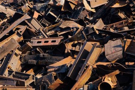 scrap metal, close-up view Stock Photo - 20363481
