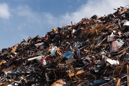 scrap metal heap Stock Photo - 20834062
