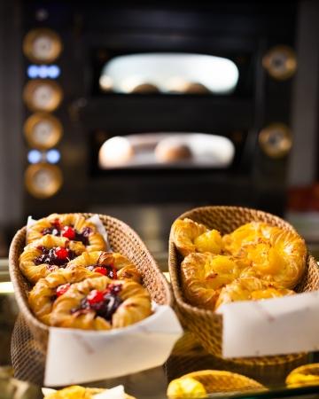 baked  goods: fresh baked goods in the bakery