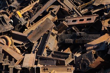 metallschrott: Schrott, close-up view