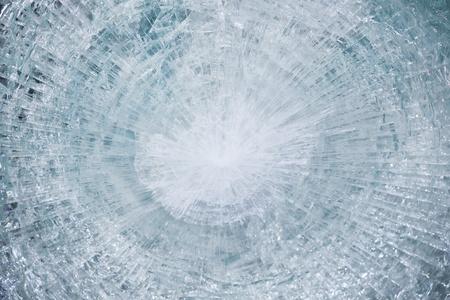 bulletproof: vidrio a prueba de balas despu�s de la prueba