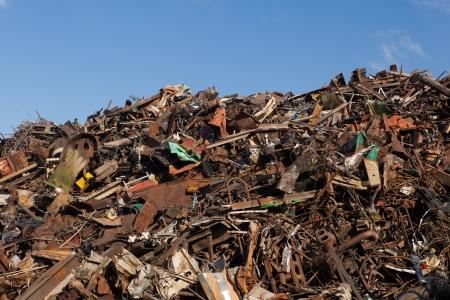 scrap metal heap Stock Photo - 21755900
