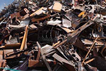scrap metal heap Stock Photo - 21756165