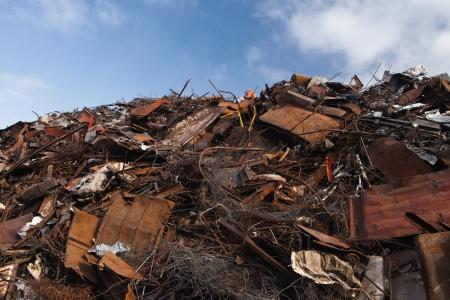 scrap metal heap Stock Photo - 21767568