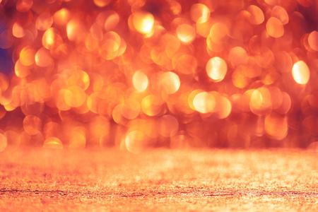 shiny floor: shiny christmas bokeh background with floor