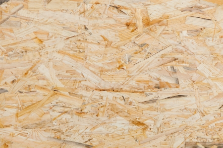 oriented: oriented strand board texture Stock Photo