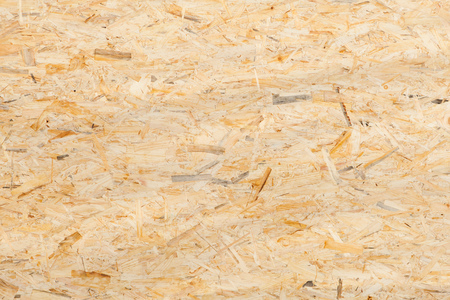 oriented strand board texture Stock Photo