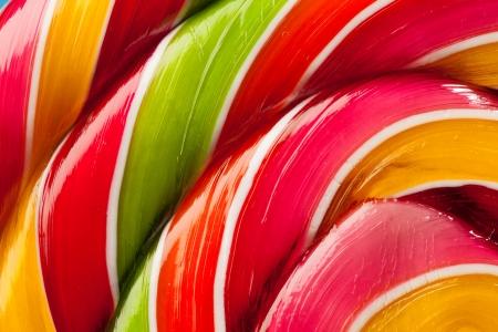 macro of colorful lollipop candy backdrop Zdjęcie Seryjne