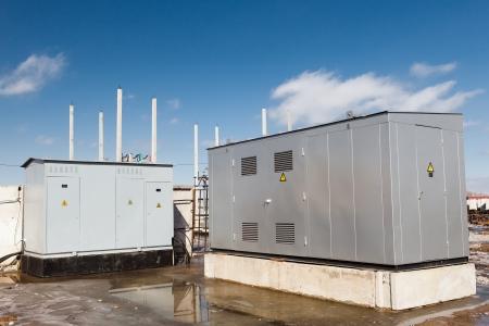 Transformateur d'électricité voûte Banque d'images - 25394082