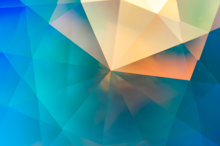 refractions: abstract crystal refractions background