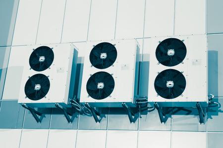 空気条件システム室外機 写真素材