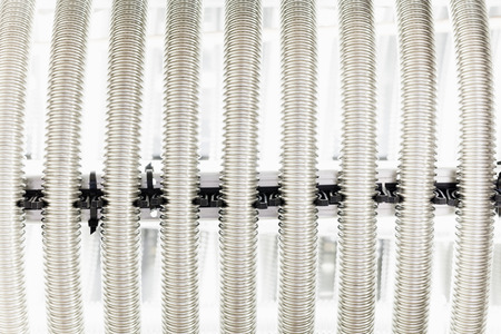 exchanger: corrugation metal pipe for heat exchanger
