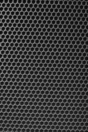 malla metalica: malla metálica de altavoz parrilla de textura Foto de archivo