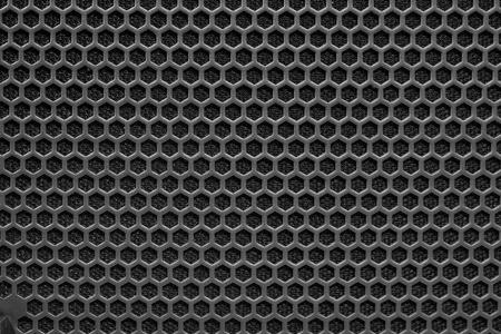 grille: Metal mesh of speaker grill texture