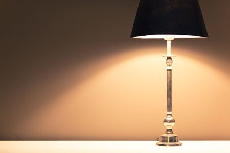 lamp light: lamp light background with copy-space Stock Photo