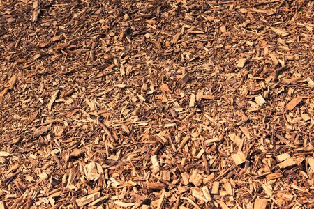 natural backgrounds: brown wood chips background