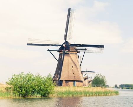traditional windmill: traditional windmill in Netherlands