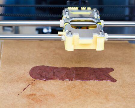 printing machine: head of chocolate printing machine