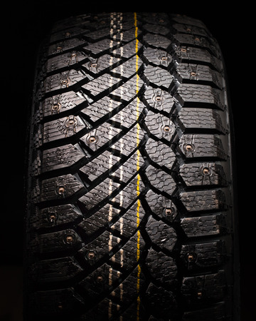 vulcanization: winter tire protector with studs