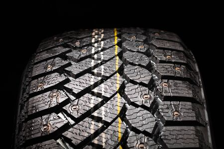 winter tire: winter tire protector with studs