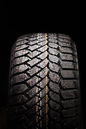 studs: winter tire protector with studs
