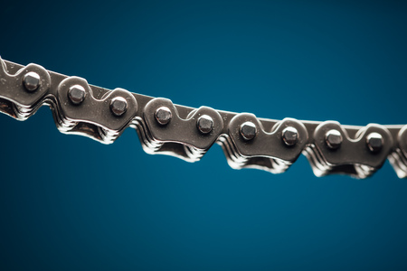 timing: engine timing chain, closeup view