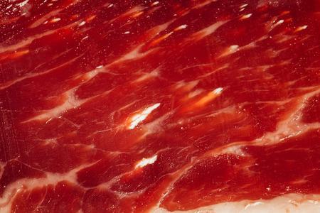 inclusions: texture of spanish ham - iberico bellota jamon
