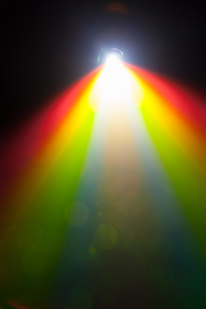 fullhd: color light of projector