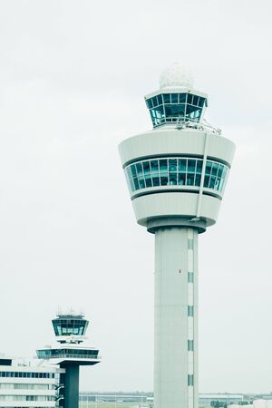 atc: airport traffic control tower