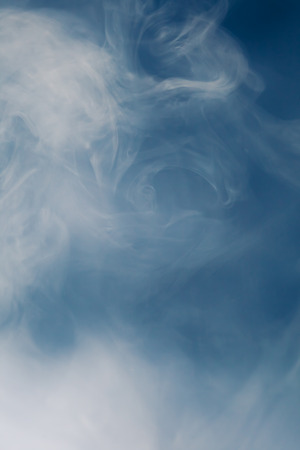 copyspace: blue smoke background with copy-space