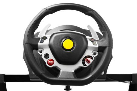 simulator: racing wheel for driving simulator