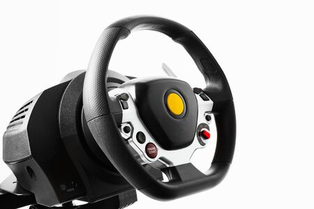 simulator: racing wheel for driving simulator