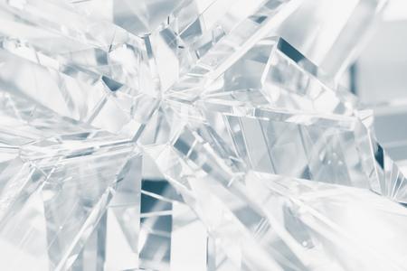 結晶の屈折の背景