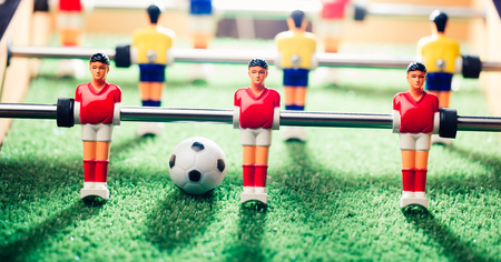 table football game, abstract light Stock Photo - 58581363