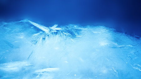 ice crystal: ice background, blue frozen texture