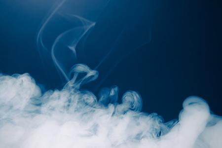 Blauer Rauch Hintergrund Standard-Bild - 71227133