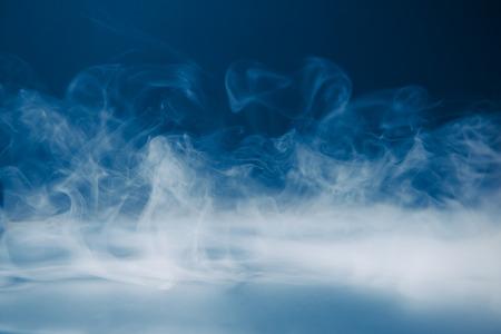 sfondo fumo e nebbia fitta Archivio Fotografico