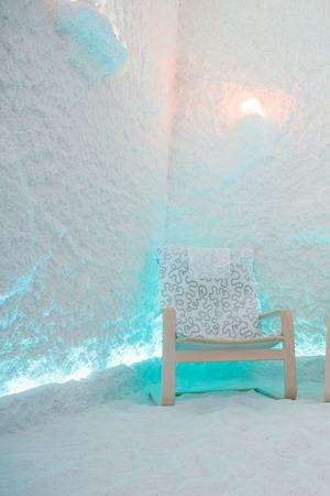 salt room interior