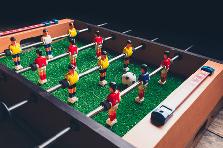table football soccer kicker game players