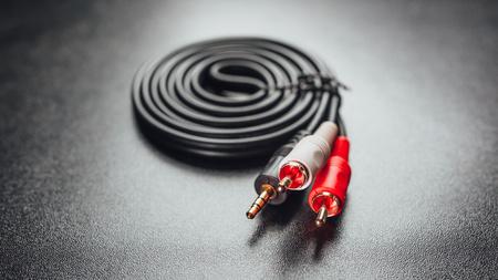 RCA mini jack audio cable
