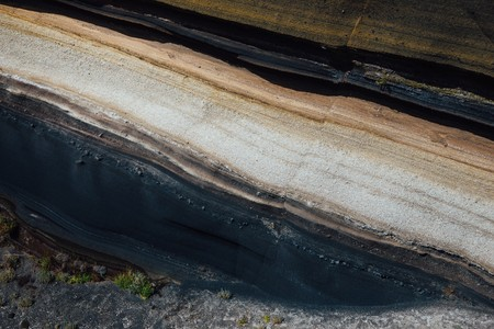 stratum of Earth crust in cross-section, abstract background Фото со стока