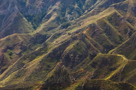 mountains in Anaga rural park, Tenerife Фото со стока - 121846110