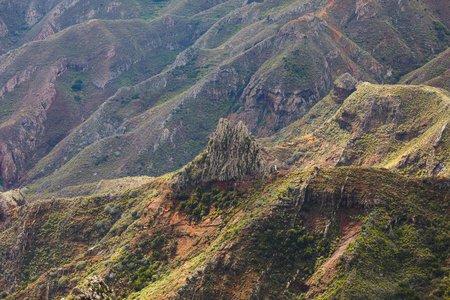mountains in Anaga rural park, Tenerife Фото со стока - 123075623