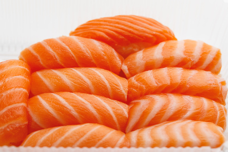 sashimi sushi set, close-up view Фото со стока