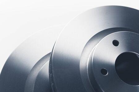 car brake discs, close-up view Stock fotó