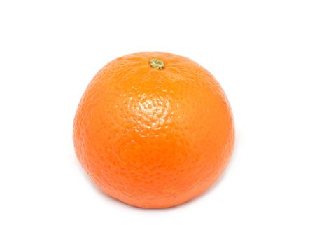 Tangerine from Morocco. Isolated.