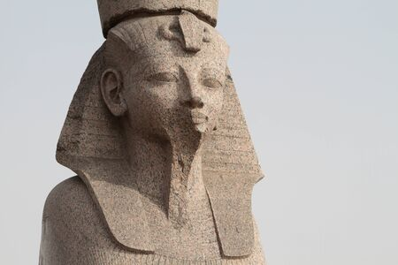 head of the Sphinx. granite. Egypt. original.