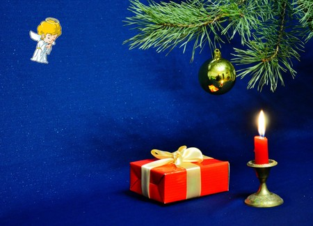 blazes: Christmas and new year decoration