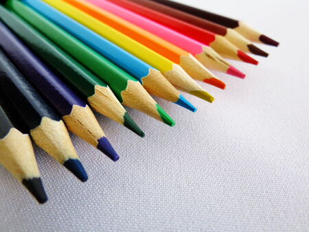 blazes: Bright colorful still lifes consist of different subject  Stock Photo